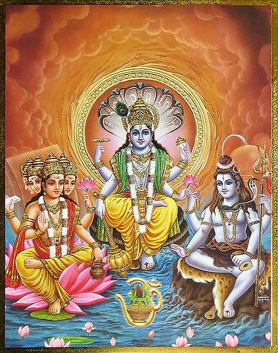 Array - brahma vishnu mahesh   the great indian epic  rh   thegreatindianepic com